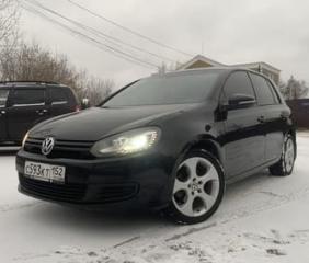 Volkswagen Golf 6 2011 года выпуска